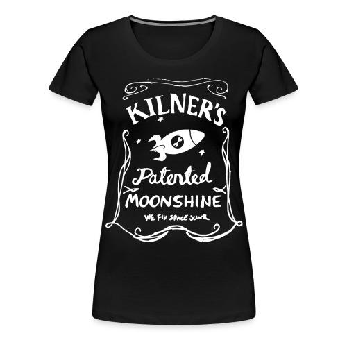 Kilner's Patented Moonshine (White) - Women's Premium T-Shirt