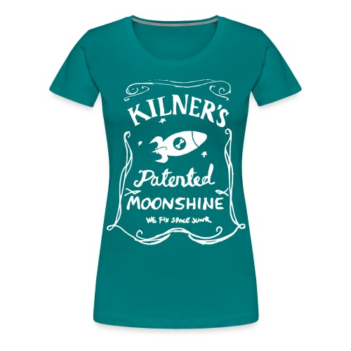 Kilner's Patented Moonshine (White) - Women's Premium T-Shirt