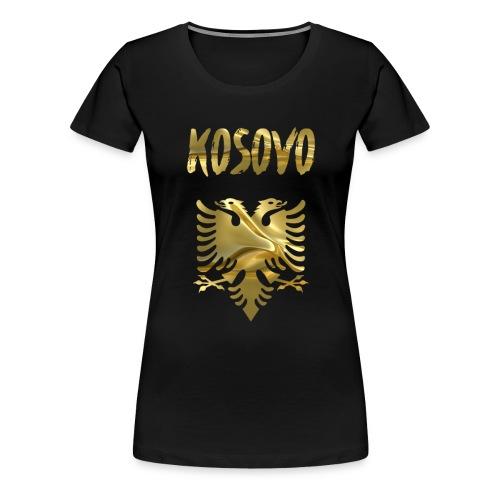 Kosovo - Frauen Premium T-Shirt
