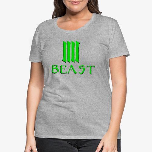 Beast Green - Women's Premium T-Shirt