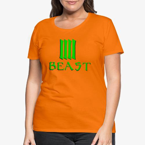 Beast Green - Women's Premium T-Shirt