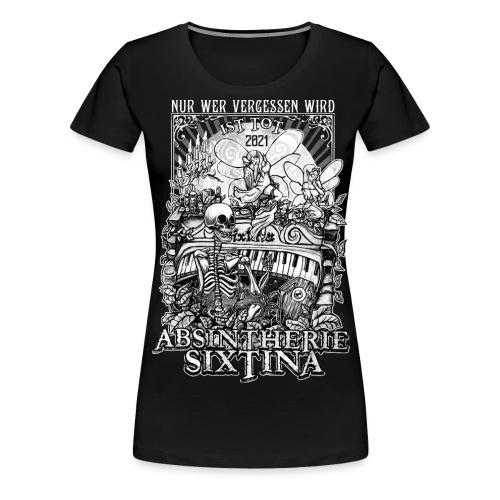 Absintherie Sixtina 2021 - Sixtina Support - Frauen Premium T-Shirt