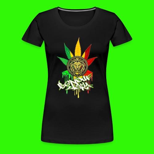 benoufAKAlion - T-shirt Premium Femme
