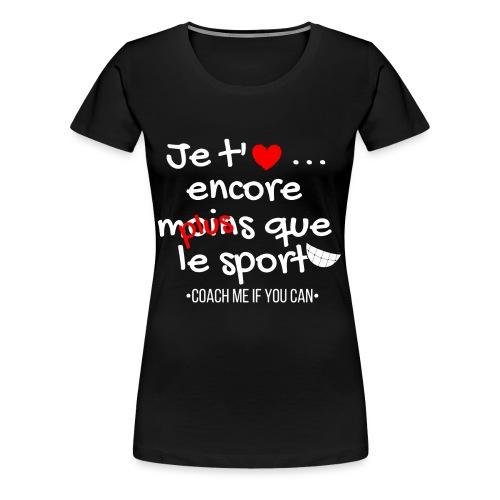 Saint valentin - T-shirt Premium Femme