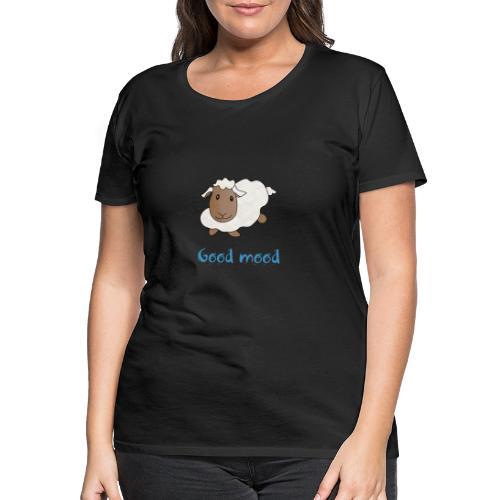 Nadège le petit mouton blanc - T-shirt Premium Femme