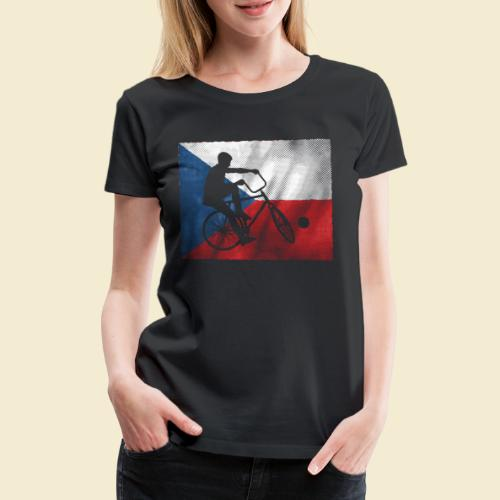 Radball | Flagge Tschechien - Frauen Premium T-Shirt