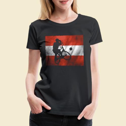 Radball | Flagge Österreich - Frauen Premium T-Shirt
