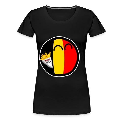 Belgiumball - Women's Premium T-Shirt