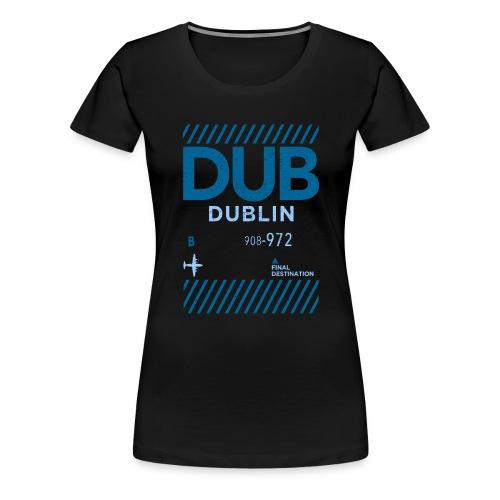 Dublin Ireland Travel - Women's Premium T-Shirt