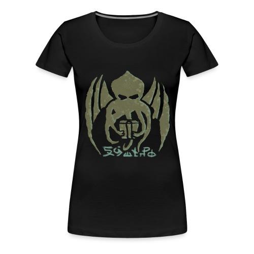 chtulhu02 - Camiseta premium mujer