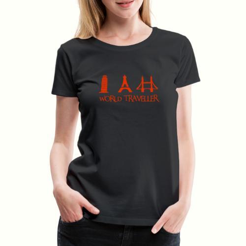 World Traveller - Weltreise - Frauen Premium T-Shirt
