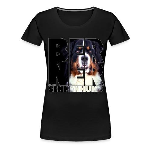 NASSU Berner Black - Naisten premium t-paita