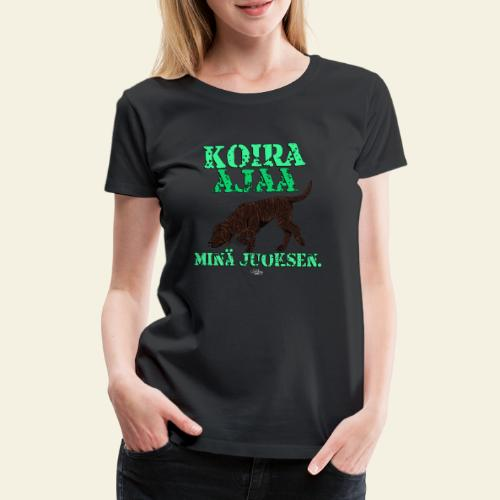 plottiajaa7 - Naisten premium t-paita