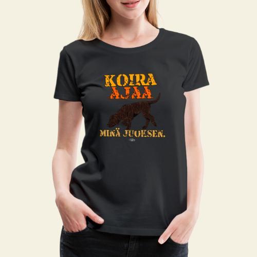 plottiajaa2 - Naisten premium t-paita