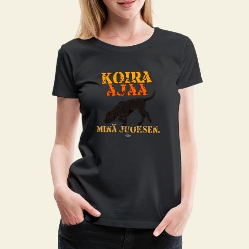 plottiajaa4 - Naisten premium t-paita