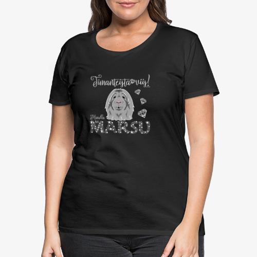 Marsu Dimangi IX - Naisten premium t-paita
