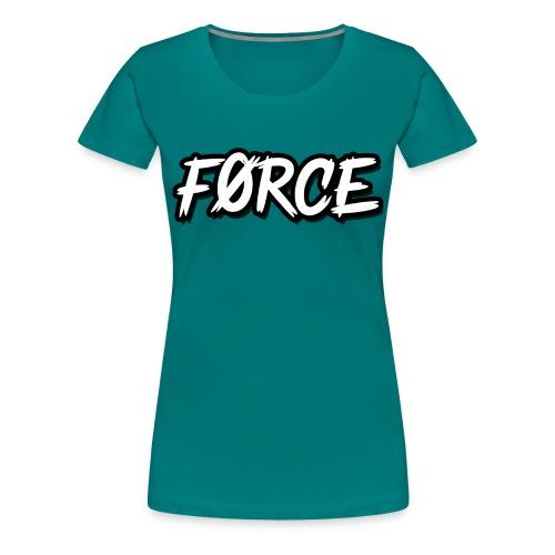 K - Vrouwen Premium T-shirt