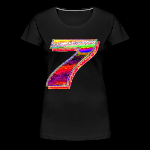 Deep Fried 7 (meme) - Women's Premium T-Shirt