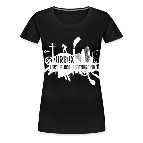 Lost Place Photography White - Frauen Premium T-Shirt