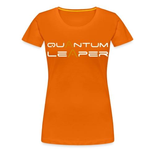 Quantum Leaper White - Women's Premium T-Shirt