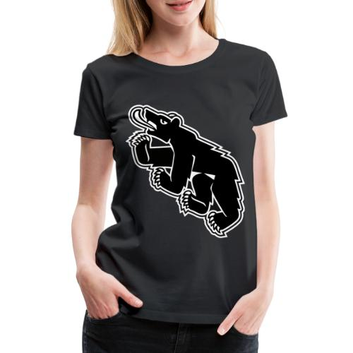 Berncity Bear 02 - Frauen Premium T-Shirt