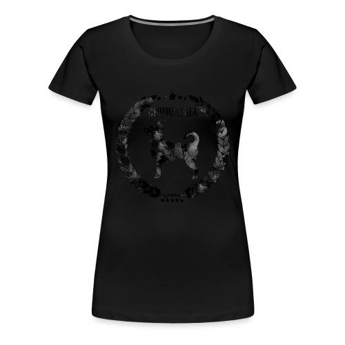 Chihuahua Army Black - Naisten premium t-paita