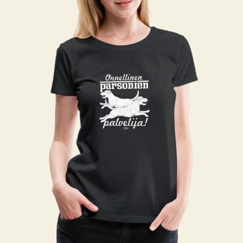 parsonienpalvelija3 - Naisten premium t-paita