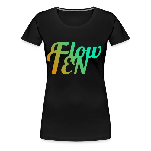 FlowTen Men's T-Shirt Beach Edition - Women's Premium T-Shirt