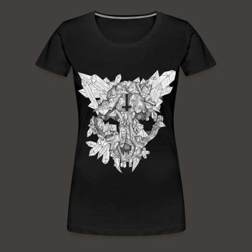 Le Chat de Cristal - T-shirt Premium Femme