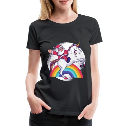 Einhornbogen - MOMO - Frauen Premium T-Shirt