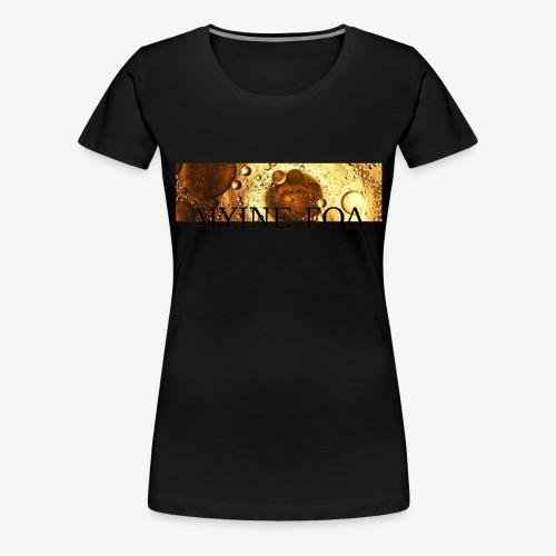 Be Funky Gold 1.0 ΔΙΥΙΝΕ ΓΟΔ - Vrouwen Premium T-shirt