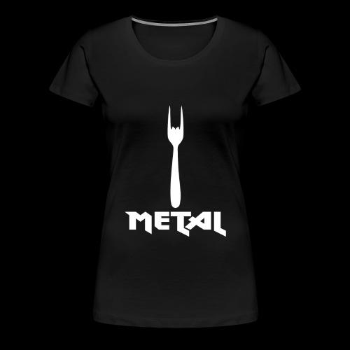 Metal - Frauen Premium T-Shirt