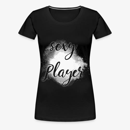 sexy player gamer spieler spiel black 2reborn - Frauen Premium T-Shirt