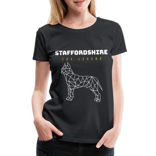 Staffordshire Hund Dog - Frauen Premium T-Shirt