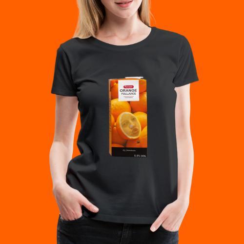 OrangeFullRoope - Naisten premium t-paita