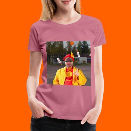 OrangeFullElmeri - Naisten premium t-paita