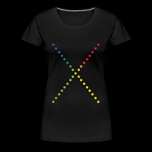 Rainbow - X by SXNA - Frauen Premium T-Shirt