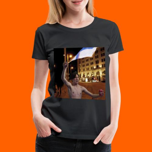 OrangeFullArttu - Naisten premium t-paita