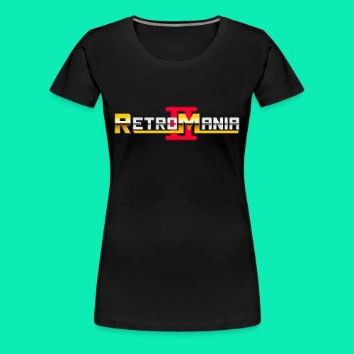 Retro Mania II - Logo - Frauen Premium T-Shirt