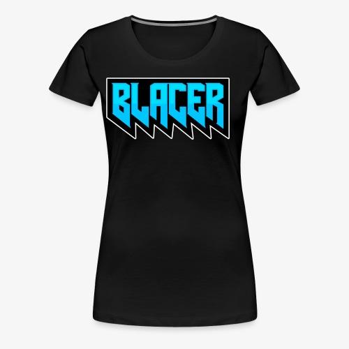 Official logo of Blacer eSport organization - Women's Premium T-Shirt