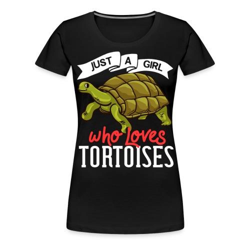 Landschildkröten Schildkröte Afrikanische Sulcata - Frauen Premium T-Shirt