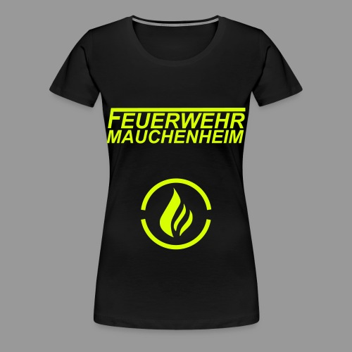 Flammenlogo - Frauen Premium T-Shirt