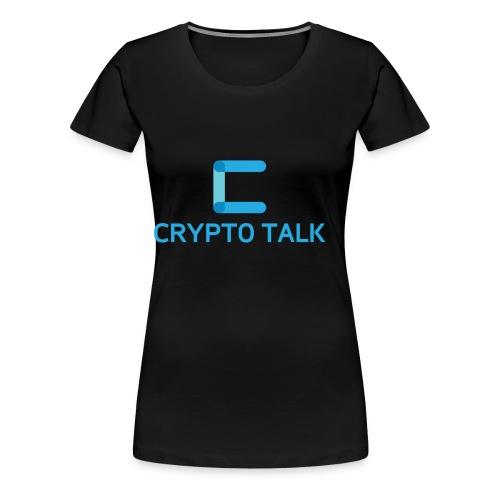 Crypto Talk - Women's Premium T-Shirt