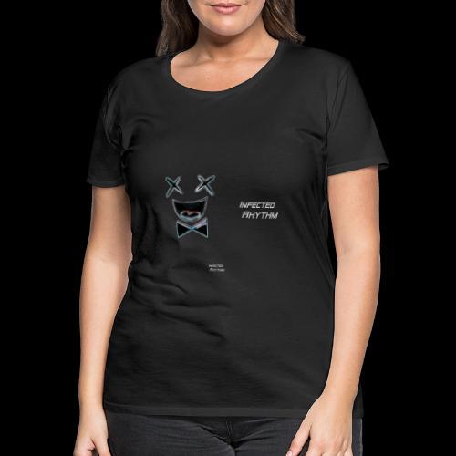 Infected Rhythm Logo Schr - Frauen Premium T-Shirt