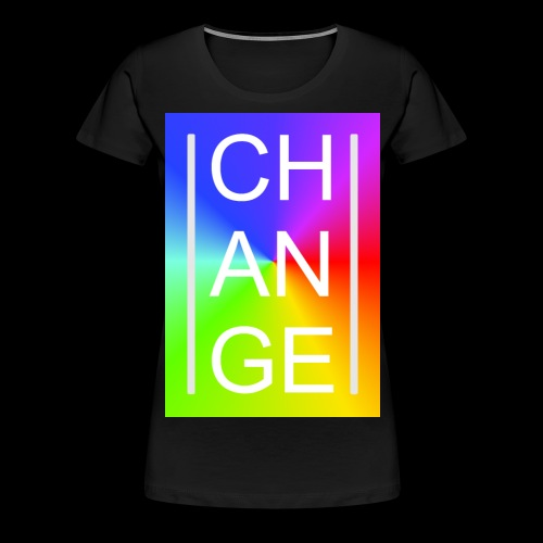 CHANGE Rainbow - Frauen Premium T-Shirt