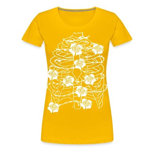 Inhale - Frauen Premium T-Shirt