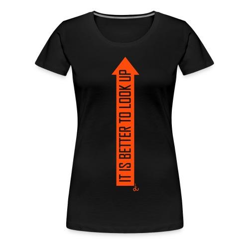 Look Up_dit - Women's Premium T-Shirt