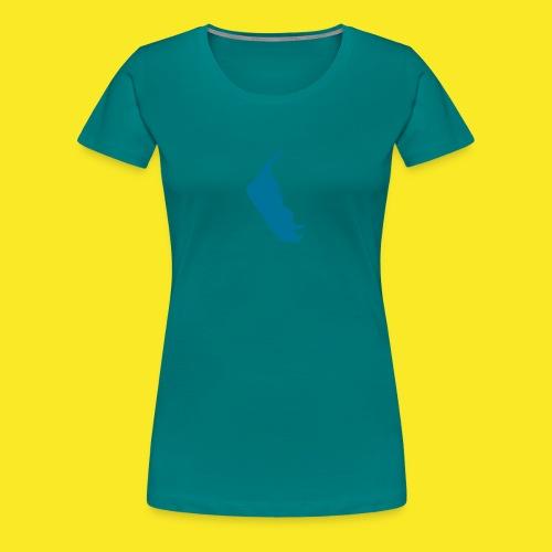amrum14x22 - Frauen Premium T-Shirt