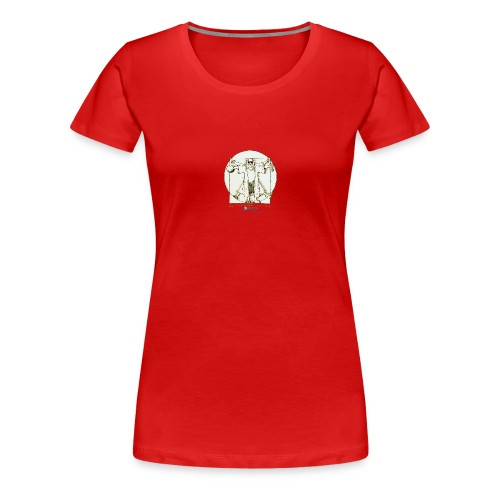 Dude Da Vinci - Maglietta Premium da donna