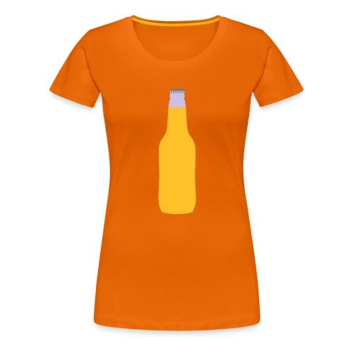 Bierflasche - Frauen Premium T-Shirt
